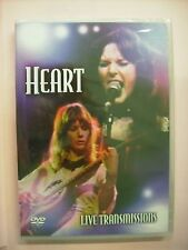 HEART - LIVE TRANSMISSIONS - DVD PAL SIGILLATO