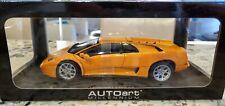 AUTOART 1/18 Lamborghini DIABLO 6.0 Orange Over Black 1:18 NEW IN BOX