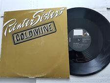 "POINTER SISTERS - Goldmine / Sexual Power 12"" DISCO DANCE ELECTRO-FUNK 1986"