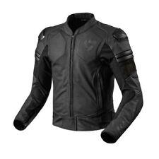 Giacche in pelle con imobottitura rimovibile per motociclista taglia 50