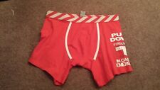 """Pull Down In case of emergency"" Funny Naughty Underwear Size Medium (New)"