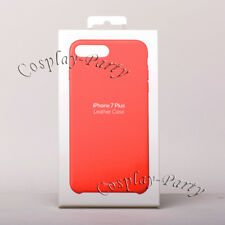 Genuine Original Apple Leather Snap Case For iPhone 7 Plus / iPhone 8 Plus - Red