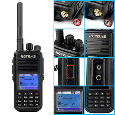 Digital Mobile Radio DMR Retevis RT3 Walkie Talkies UHF 1000CH 5W TWO WAY Radio