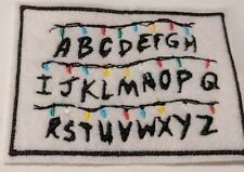 Stranger Things embroidered patch
