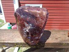 Glass Rock Slag Pretty Clear Lavender 9.4 lb Rocks Hh43 Landscaping Aquarium