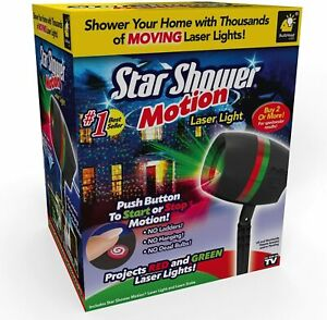Star Shower Motion Laser Light by BulbHead - Outdoor Christmas Light Projector