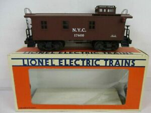 LIONEL 17600 NYC WOOD-SIDE CABOOSE