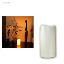 LED Kerze 15cm mit Timer für Außen, Outdoor-Kerzen flammenlos flackernde candle