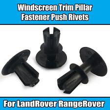 10x Clips for Land Rover Range Rover Freelander Windscreen Trim Pillar Rivets