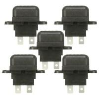 5pcs Car Boat Truck 30A Amp Auto Blade Standard Fuse Holder Boxes w/ Cover #gib