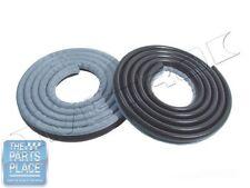 62-66 Mopar A / B Body Door Weatherstrip Seals Pair - LM23GBLU - Metallic Blue