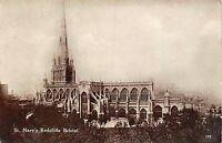 POSTCARD  BRISTOL  St  Mary  Redcliffe   Church    RP
