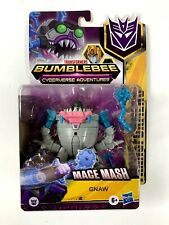 Transformers Bumblebee Cyberverse Adventures: Mace Mash - Gnaw - NEW
