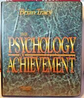 The Psychology Of Achievement Brian Tracy Audio Book Tapes Collection