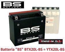 Batteria BS BTX20L-BS =YTX20L-BS 18Ah BOMBARDIER Outlander H.O. 800 Efi dal 2006