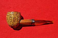 Vintage Missouri Meerschaum Bulldog Corndog Corn Cob Pipe Xtra Fat Cob Straight