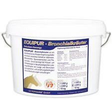 Equipur Bronchial naturbelassene Bronchialkräuter / Bronchialsystem Pferd 3 Kilo
