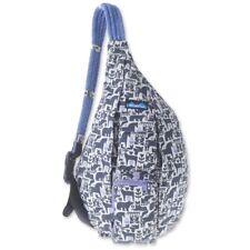 Kavu Rope Bag Backpack Purse Sling - Charcoal Fable - NWT