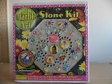 Marble Art Stepping Stone Kit~Arts & Crafts~Great For Kids!~New In Box