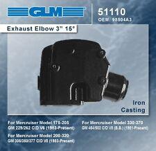 "Mercruiser 262 305 350 454 502 3"" Riser Elbow GLM 51110 oe 98504A3"