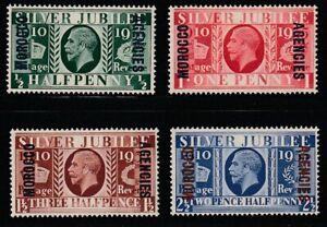 GB-Morocco  1935   Sc # 226-29   Silver Jubilee   MNH  (4047-1)