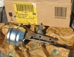 BMW 5 Series E60 E61 535D M57N 04-07 Turbo Actuator Vacuum Box 11657794887 New