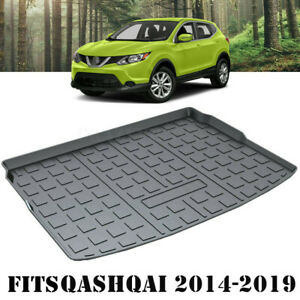 Waterproof Cargo Rubber Mat Boot Liner Luggage Tray for Nissan QASHQAI 2014-2020