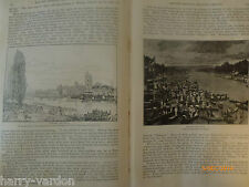 Henley Regatta Reach Rowing Fawley Court Blandy Antique Victorian Article 1892