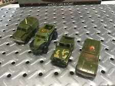 1973-75-13 Matchbox-Hotwheels Military Lot 4