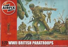 AIRFIX A01723 1:72 WW II BRITISH PARATROOPS