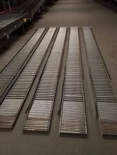 "10 pcs 120"" Cardboard Box/Case/Carton Gravity Flow Span Track Conveyor 15"""