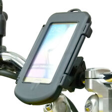 Waterproof Motorcycle Bike Handlebar Mount Holder for Galaxy S6 Edge