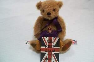 MERRYTHOUGHT Queen's GOLDEN JUBILEE Teddy Bear