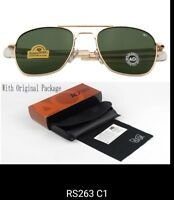American Optical. Gold green. 52mm. New