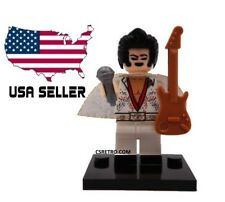 The King Elvis Rock & Roll Music Mini Figure Toy Building Blocks Toy USA minifig