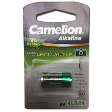 Camelion 6V 165mAh 4LR44 Battery Fits Canon AE-1 Mamiya 645 Pro TL Pentax 67