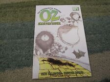 THE WONDERFUL WIZARD OF OZ #1  RARE SKETCHBOOK!!!!