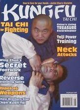 7/07 KUNG FU TAI CHI CHEN KUAN-TAI BLACK BELT KARATE MARTIAL ARTS WING CHUN