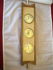 Airguide Instruments Vintage Thermometer, Barometer & Humidity Gauge Wall Hanger