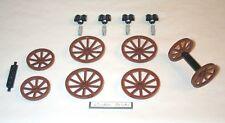 Lego Wagon Wheels 4 Extra Large 10216 Horse Carriage Cart Castle