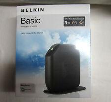 Belkin Surf N150 150 Mbps 4-Port 10/100 Wireless N Router (F7D1301) NIB