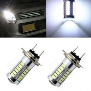 FITS NISSAN QASHQAI 2007-2012 SET OF 2X H7 5630 33SMD LED FOG LIGHT CAR BULBS