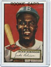 Jackie Robinson 1952 Rookie  #312 Brooklyn Dodgers / Reprint