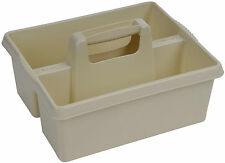 Wham CREAM plastic handy kitchen cleaning tool box utility caddy storage tidy