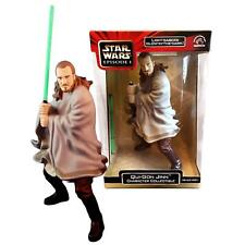 NEW Star Wars 1999 Episode 1 The Phantom menace Qui-Gon Jinn + Lightsaber Figure