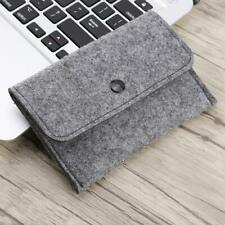 Felt Wallet Bag Pouch Sleeve Case Multifunction Card Mobile Phone Storage Pocket
