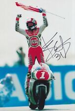 Kevin CAL Firmato a Mano 12x8 foto-MotoGP AUTOGRAFO 4.