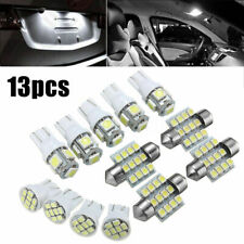 13X White LED Package Interior For Dome Map License Lights T10 & 31mm Bulbs Lamp