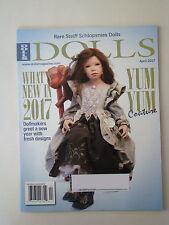 Puppen Magazin April 2017 Yum Yum Couture Steiff Puppenmacher Puppe Szene News q&a