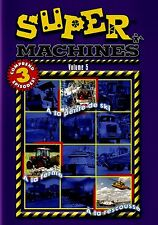 NEW DVD - SUPER MACHINES VOL 5 - 81 min - FRENCH & ENGLISH - 3EPISODES